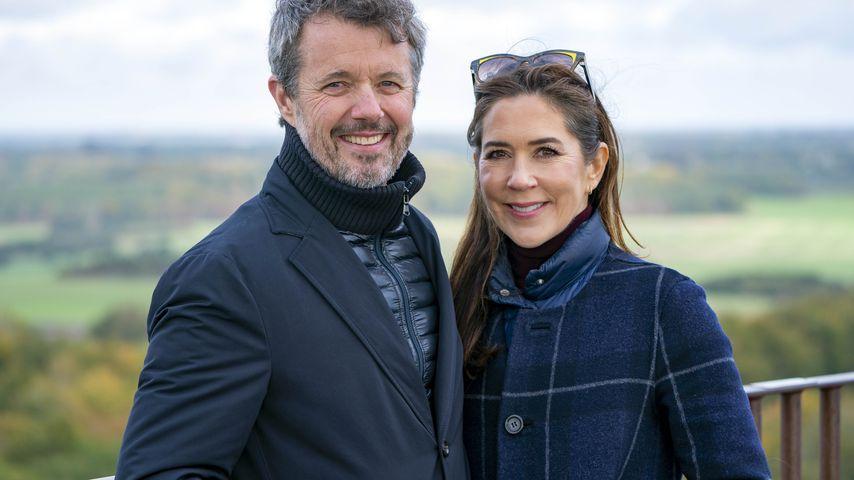 Prinz Frederik und Prinzessin Mary in Dänemark im Oktober 2021
