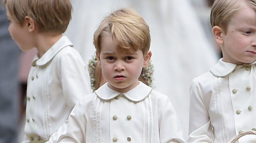 Wutanfall: Darum weinte Prinz George bei Pippas Hochzeit