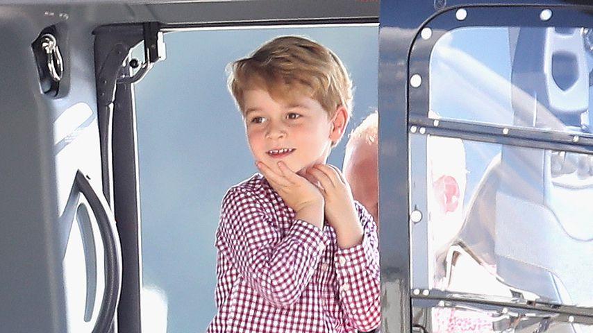 Prinz George bei einem Besuch in Hamburg