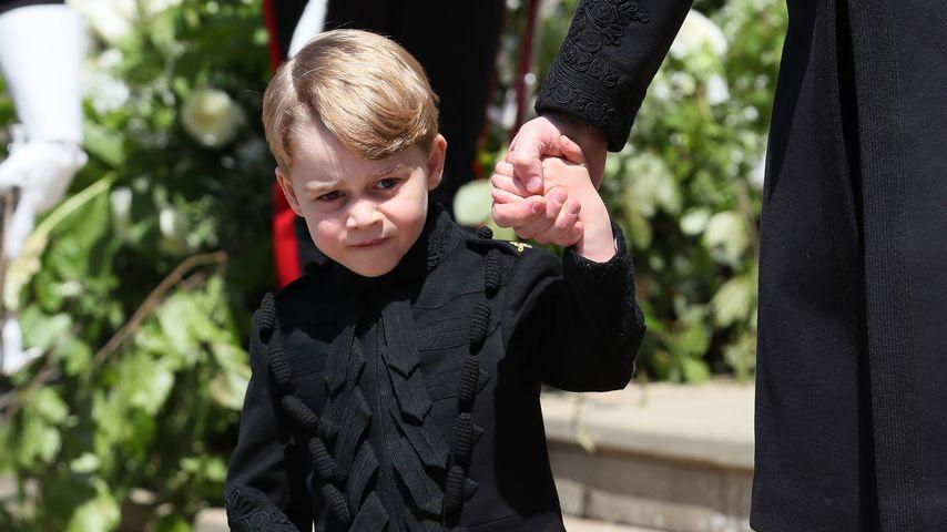 Prinz George nach der Trauung von Prinz Harry und Meghan