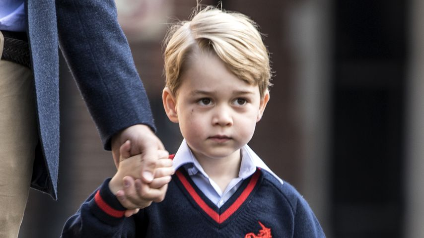Prinz George an seinem ersten Schultag in London September 2017