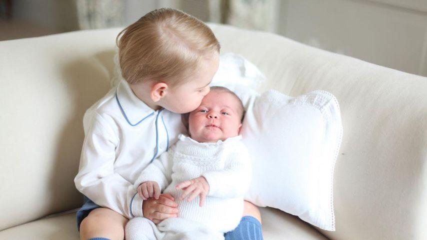 Prinz George und Prinzessin Charlotte, 2015