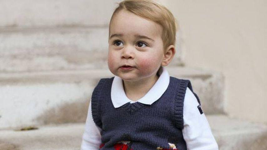 Trendsetter: Prinz George löst Pullunder-Hype aus