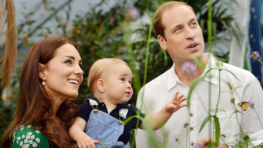 Herzogin Kate, Prinz William und Prinz George