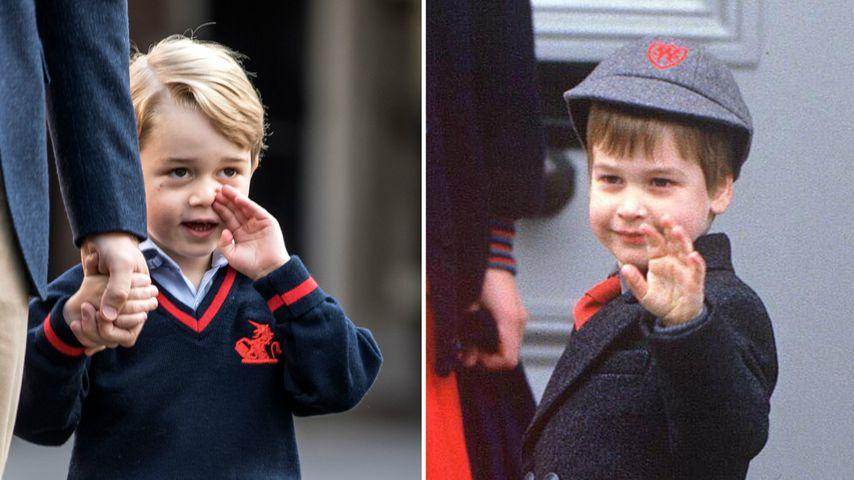 George ist Schüler: So sah Papa William am 1. Schultag aus!