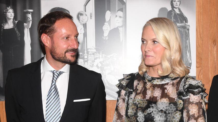 Prinz Haakon und seine Frau Mette-Marit