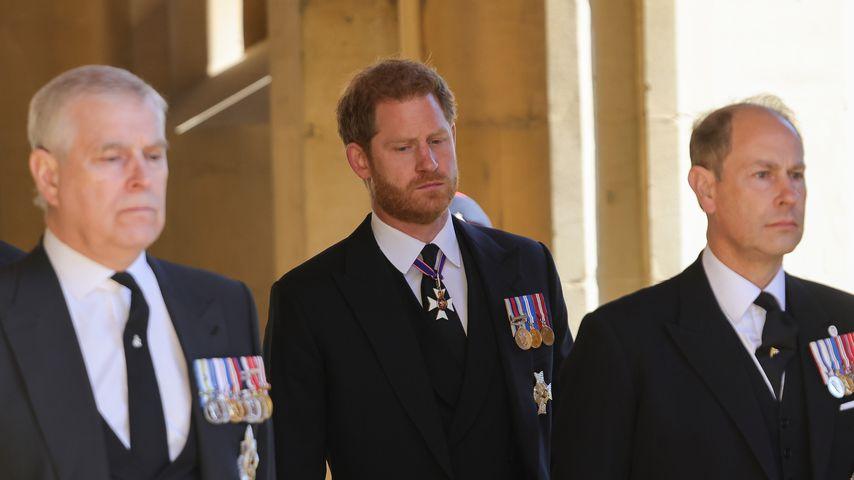 Diese Orden trugen die Royals auf Prinz Philips Beerdigung