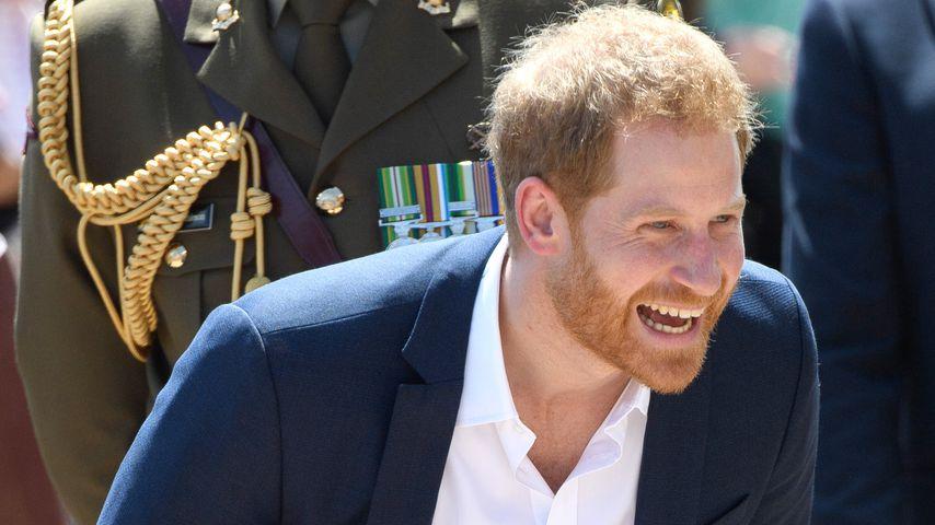 Erste Worte des Bald-Vaters: Prinz Harry strahlt vor Glück!