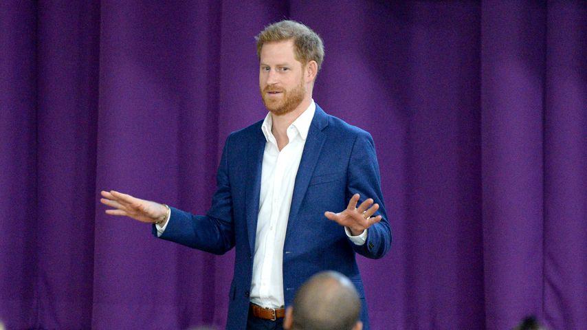 Prinz Harry im Oktober 2019