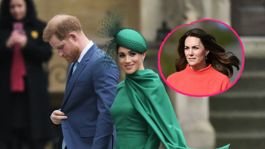 Mehr Arbeit nach Megxit: Wird es nun Herzogin Kate zu viel?