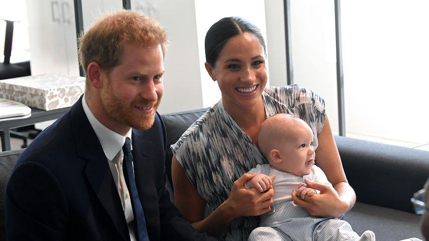 Prinz Harry, Herzogin Meghan und Sohn Archie