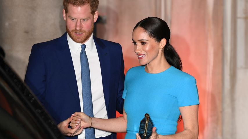 Prinz Harry und Herzogin Meghan bei den Endeavour Fond Awards in London im März 2020