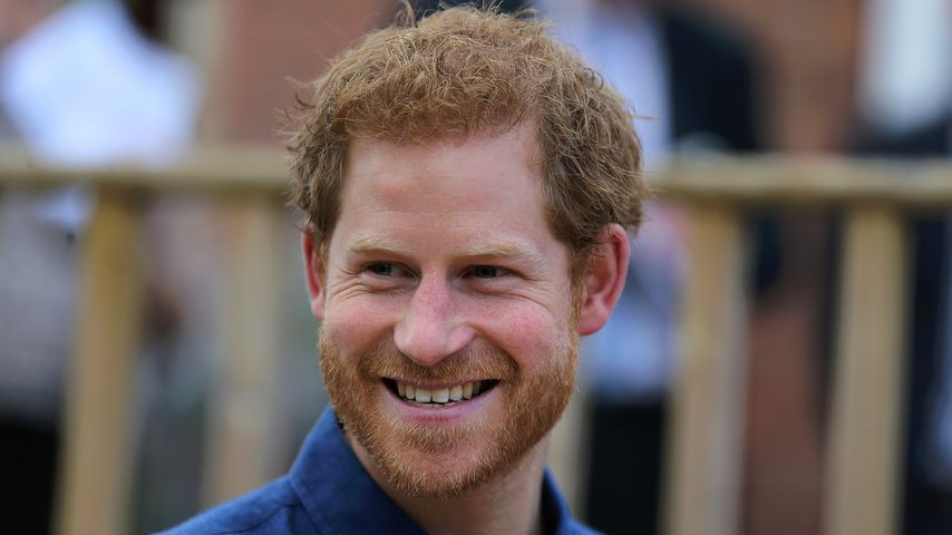 Prinz Harry in Leeds 2017