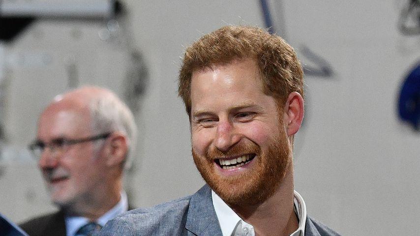 Prinz Harry fachsimpelt über Baby-Verhalten - Leute