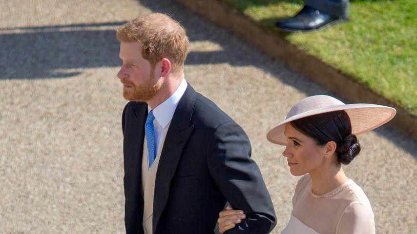 Prinz Harry und Herzogin Meghan bei den Feierlichkeiten zu Prinz Charles' Geburtstag in London