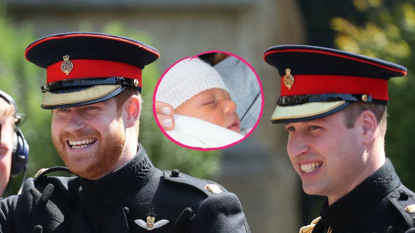Baby Archie hat Frieden zwischen Harry und William gebracht!