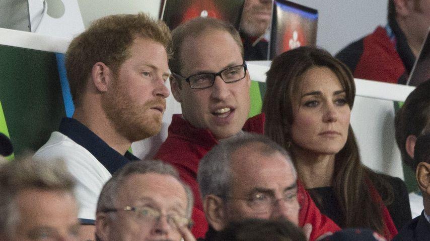 Herzogin Kate, Prinz Harry und Prinz William