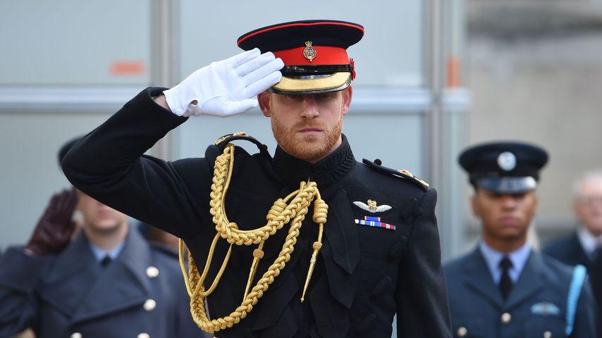 Ohne Meghan: Prinz Harrys erster Auftritt nach Royal-Tour