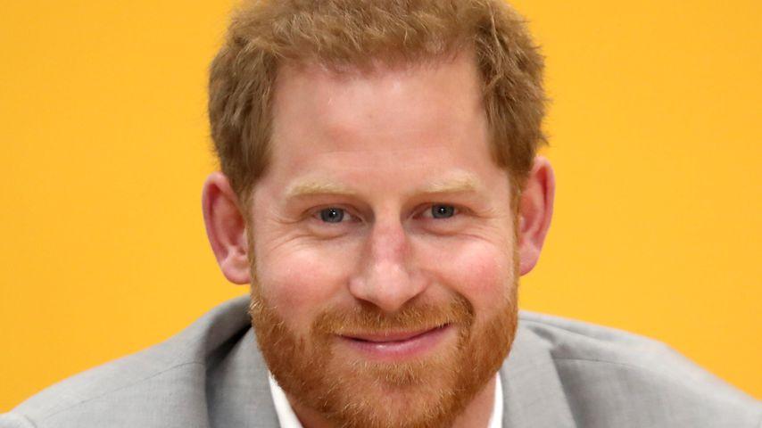 Prinz Harry im April 2019