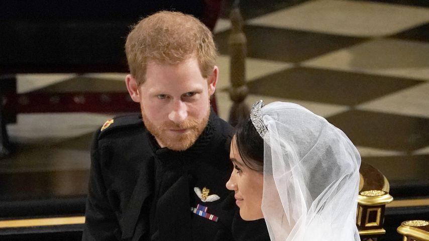 """""""Du siehst toll aus"""": Das sagte Harry seiner Meghan am Altar"""