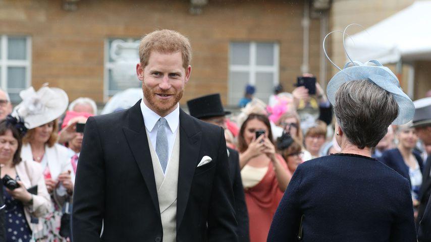 Prinz Harry bei der Gartenparty der Queen im Buckingham-Palast