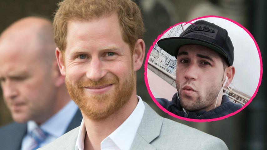 Prinz Harrys Kumpel ist ein homosexueller Porno-Star!