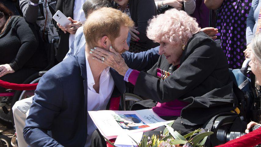 Prinz Harry und Daphne Dunne in Sydney 2018