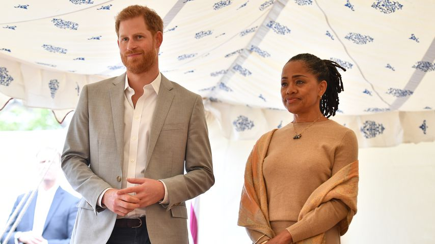 Prinz Harry und Doria Ragland in London