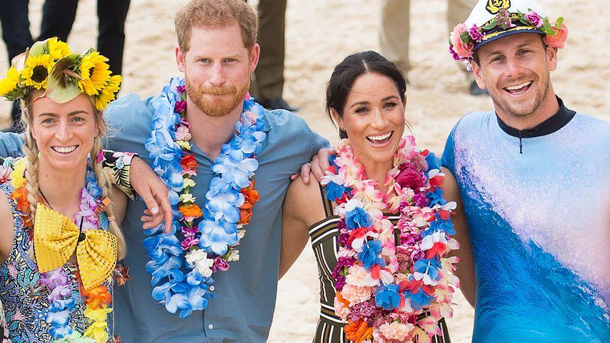 Prinz Harry und Herzogin Meghan am Bondi Beach