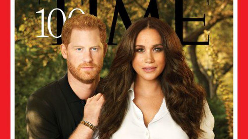 Prinz Harry und Herzogin Meghan auf dem Cover des Time-Magazins