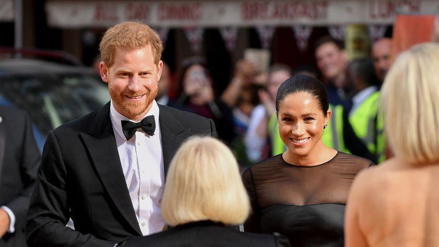 """Prinz Harry und Herzogin Meghan bei der """"König der Löwen""""-Premiere"""