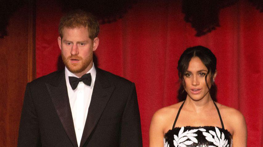 Prinz Harry und Herzogin Meghan bei der Royal Variety Performance