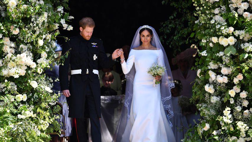 Prinz Harry und Herzogin Meghan bei ihrer Hochzeit im Mai 2018