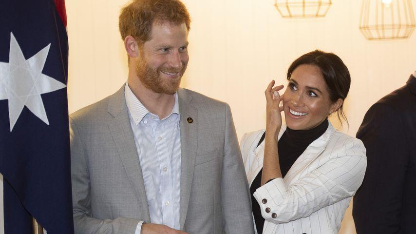 Prinz Harry und Herzogin Meghan bei einem Empfang