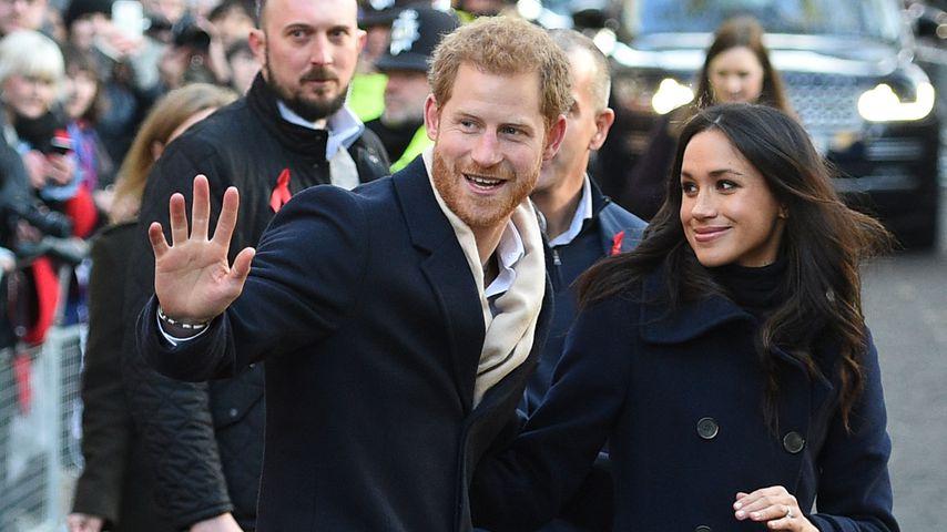 Prinz Harry und Herzogin Meghan im Dezember 2017 in England