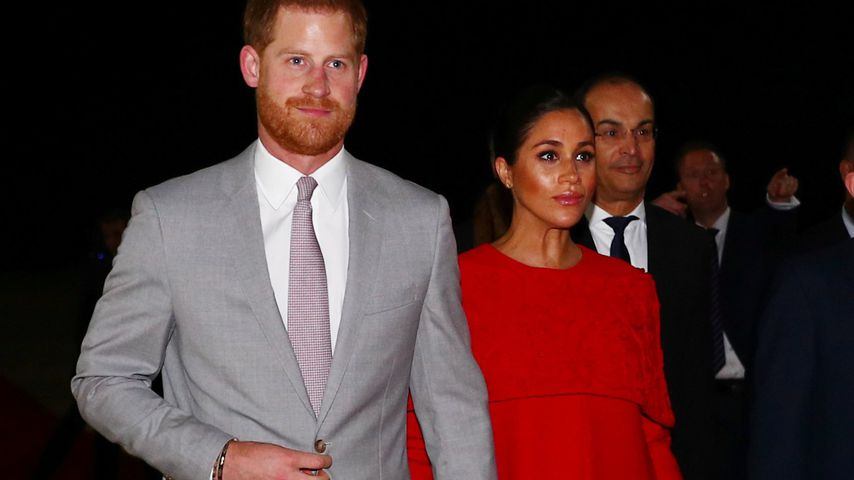 Prinz Harry und Herzogin Meghan in Casablanca
