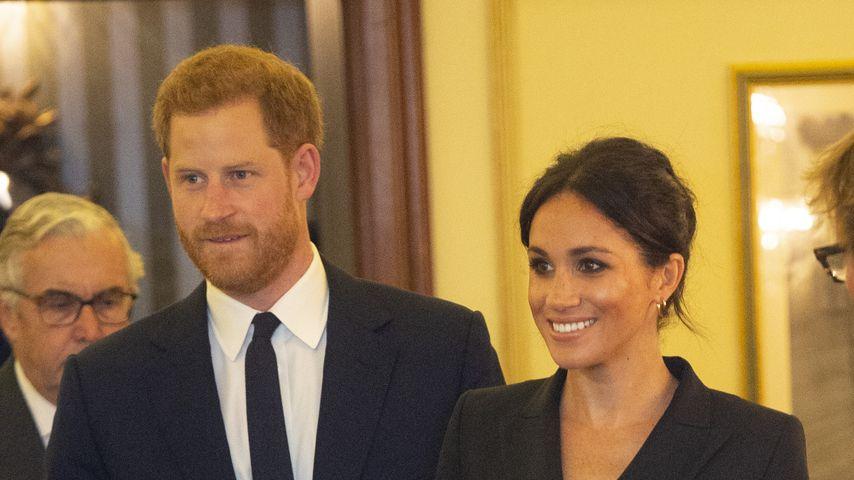 Prinz Harry und Herzogin Meghan bei einer Gala