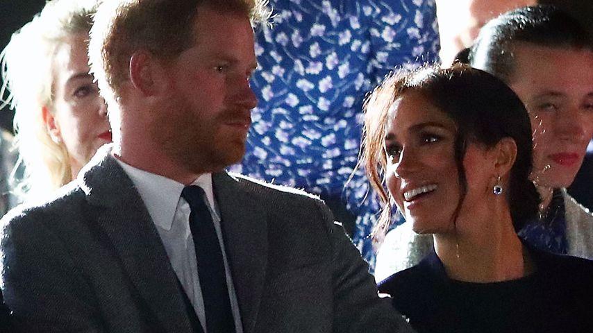 Prinz Harry und Herzogin Meghan bei der Eröffnungsfeier der Invictus Games in Sydney