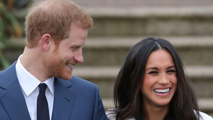 Prinz Harry und Herzogin Meghan im November 2017