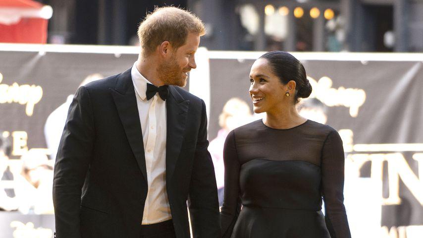 """Prinz Harry und Herzogin Meghan bei der Europa-Premiere von """"Der König der Löwen"""""""