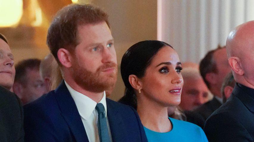 Prinz Harry und Herzogin Meghan in London im März 2020