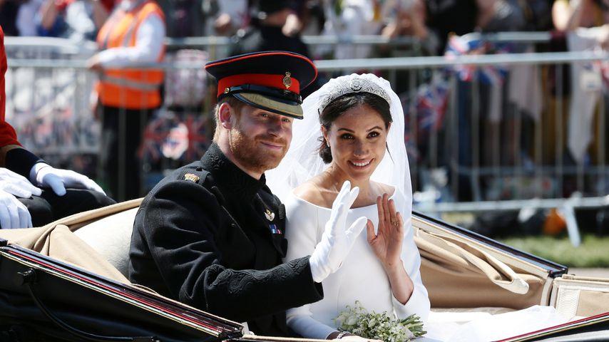 Nach der Hochzeit: Das sagte Harry zu Meghan in der Kutsche