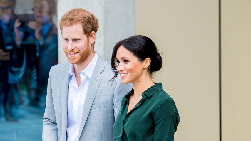 Prinz Harry und Herzogin Meghan zu Besuch in Sussex