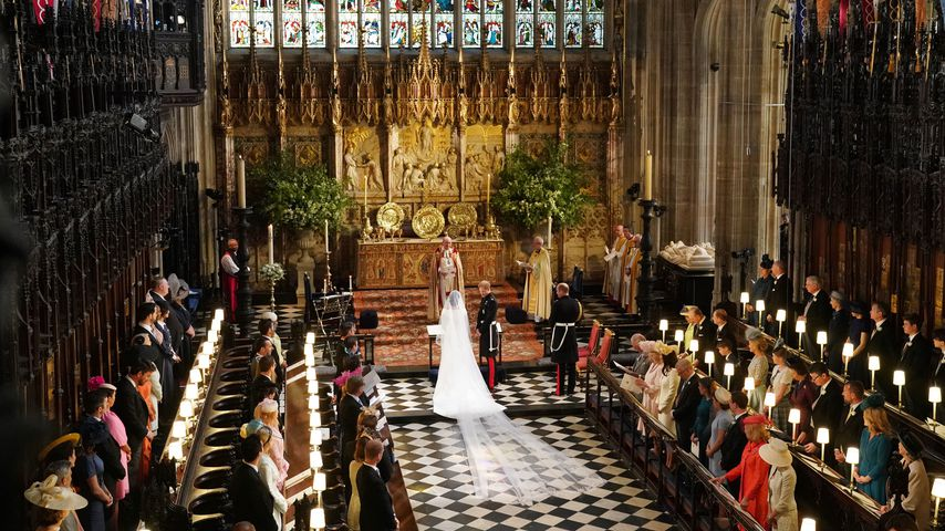 Prinz Harry und Herzogin Meghan bei ihrer Hochzeit 2018