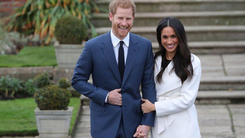Prinz Harry und Meghan in London im November 2017