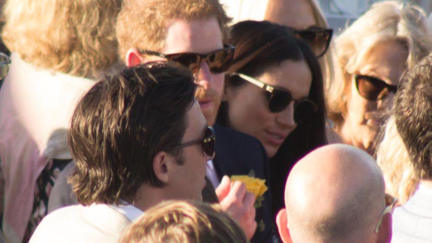 Prinz Harry und Meghan Markle bei ihrem ersten gemeinsamen Auftritt
