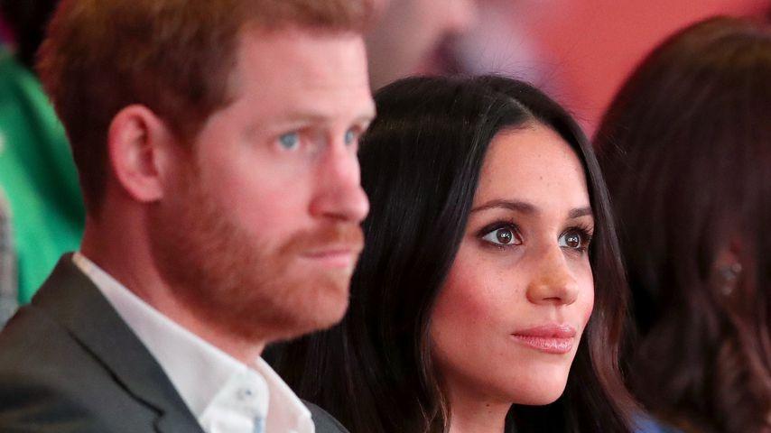 Prinz Harry und Meghan Markle beim Royal Foundation Forum