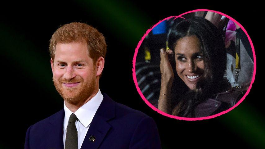 Endlich! Prinz Harry & Meghan zum 1. Mal zusammen auf Event