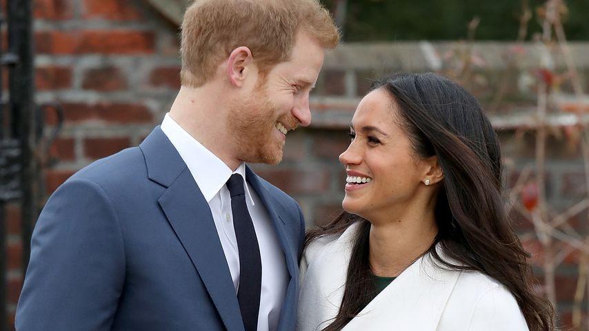 Prinz Harry und Meghan Markle in London