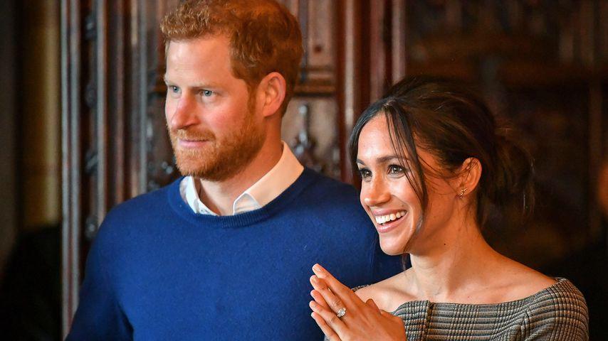 Prinz Harry und Herzogin Meghan im Januar 2018